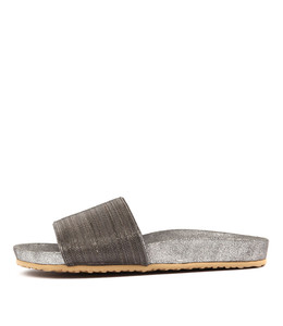 BLAINT Sandals in Pewter Chain