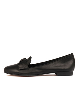BIBIO Loafers in Black Leather