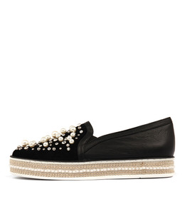 PEDESTAL Slip-on Sneaker in Black Mix