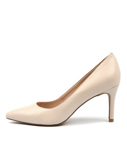 BARRIOS High Heels in Nude Leather