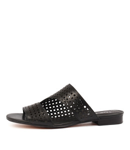 PAVLOVA Sandals in Black Leather