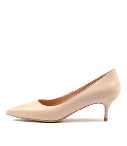 CERTAIN High Heels in Nude Leather