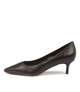 CERTAIN High Heels in Black Leather