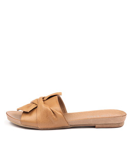 CAND Sandals in Tan Leather