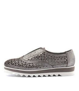 ONSLING Flats in Pewter Dust Suede