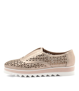 ONSLING Flats in Rose Gold Dust Suede