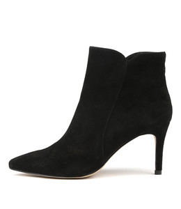 BARBAR Heeled Boots in Black Suede
