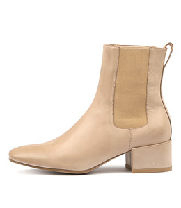 HALIE Ankle Boots in Skin Leather