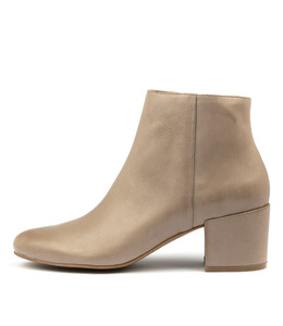 PAULOS Ankle Boots in Smoke Leather