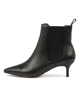 CIELO Ankle Boots in Black Leather