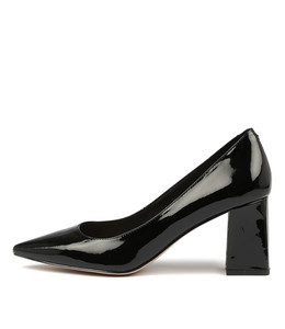 RONDOL High Heels in Black Patent Leather