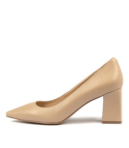RONDOL High Heels in Nude Leather