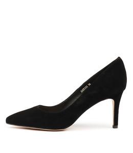 BARRIOS High Heels in Black Suede