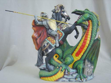 Doc Holliday Dragon And Knight Ready To Paint Ceramics