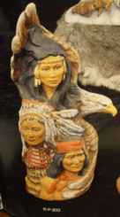 Indian Spirit Totem Stack