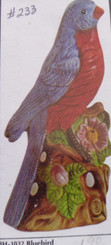 "Byron 1031 blue bird 7"" tall appx"