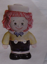 "Raggedy Andy, 8"" x 5"""