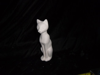 Cat ready for tole painting  ceramic bisque ready to paint