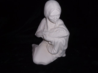 Byrons Indian Maiden with baby ready to paint