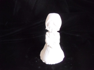 "Little Girl With Dutch Bonnet, 5"" Tall"