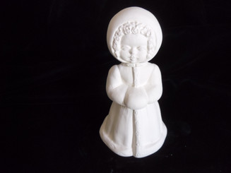 """Winter Wrapped Little Girl, 5"""" Tall"""