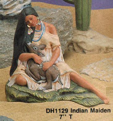 Indian Maiden with Fawn - Doc Holiday