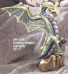 "Dragon, Dueling (upright) 10""T"