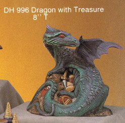 "Dragon with Treasure 8""T"
