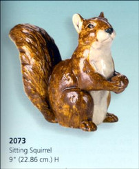 Sitting Squirrel 9""