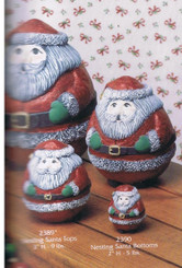 Gare stacking santa's set of 3