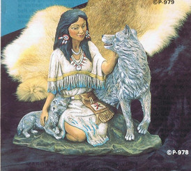 Wolf Girl - Provincial P-978