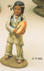 Provincial  565 Indian boy   ceramic bisque ready to paint