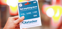 $50 Airtasker Gift Card (Physical)