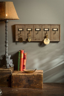 Rustic Key Rack