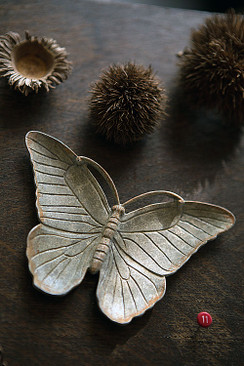Butterfly Jewelry Dish in Zinc