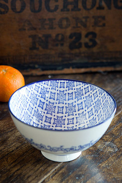 Blue and White Bowl - OC-BOWL-S4C