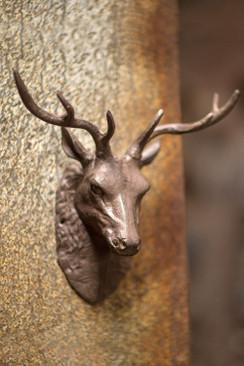 Cast Iron Buck Head