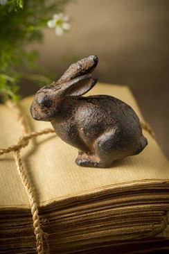 Cast Iron Bunny Rabbit