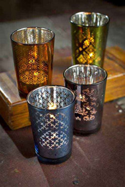 Moroccan Tea Lite Candle Holders