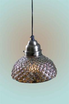 Hobnail Mercury Lamp