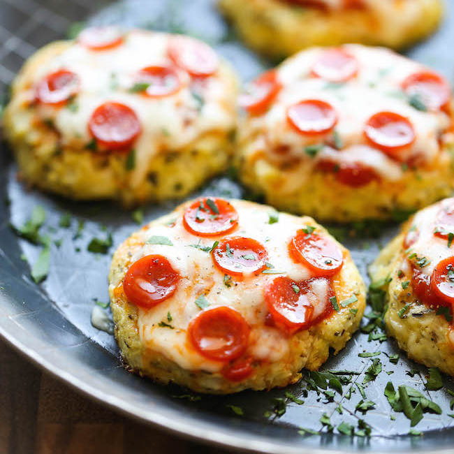 Three healthy and delicious new years eve party recipes cauliflower pizzas make a deliciously low carb new years eve party recipe forumfinder Gallery