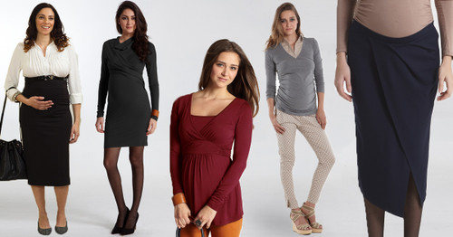 Corporate Maternity Wear - new range now online for stylish and comfortable work clothes you can wear throughout pregnancy