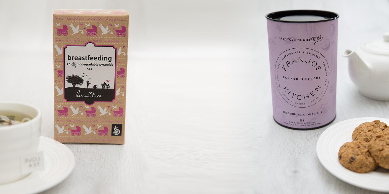 Lactation Cookies and Breastfeeding Tea