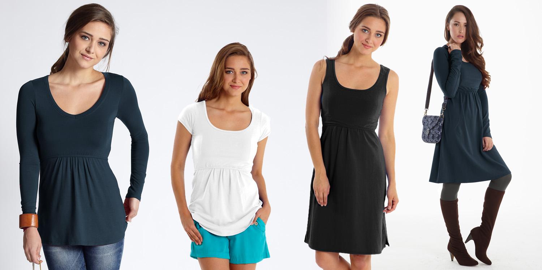 Organic Cotton Breastfeeding Clothes
