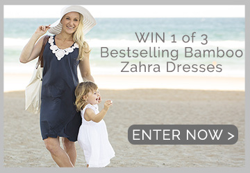 WIN a Zahra Maternity & Breastfeeding Dress