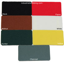 a color card for TEMPO display fabric