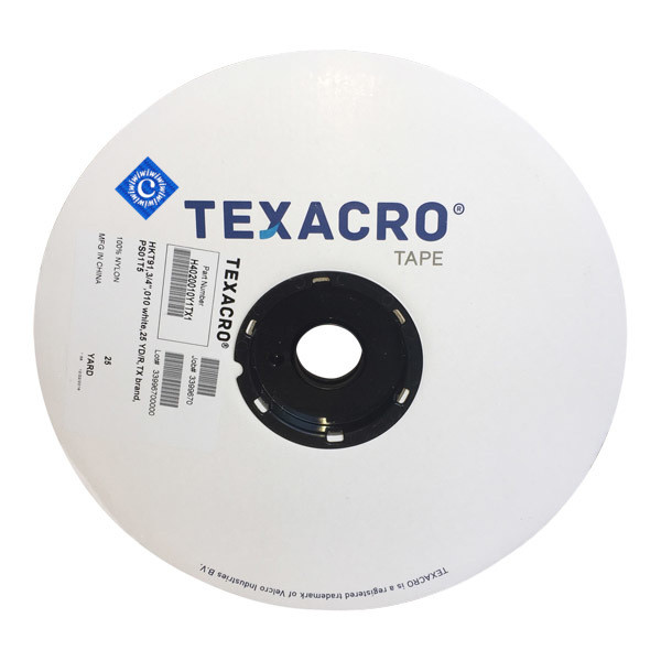 "3/4"" White Hook TEXACRO® Brand Fastener Part# IWC075WHTPS"