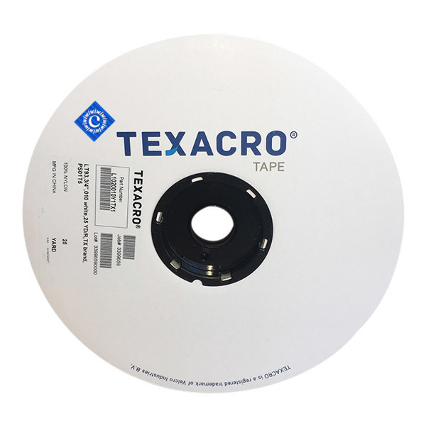 "3/4"" White Loop TEXACRO® Brand Fastener Part# IWC075WLTPS"