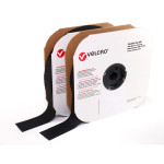 "VELCRO® Brand sew on hook & loop fasteners. 25 yard rolls Hook & Loop sold separately Image shown in 2"" width"