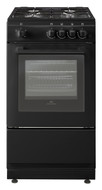 New World NW50GSO Gas Single Cavity Cooker - Black